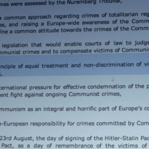 Prague Declaration screen shot